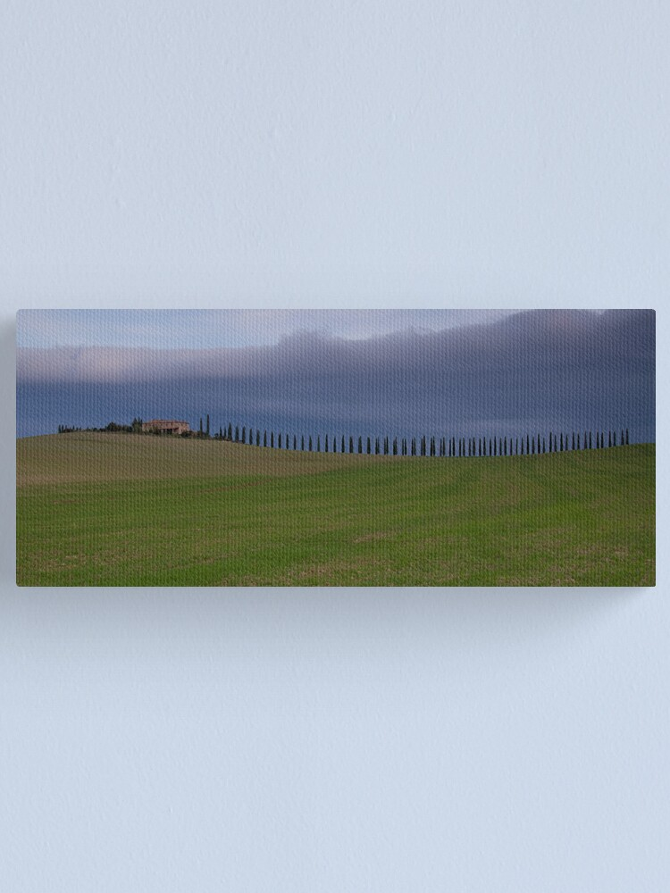 Alternate view of casale Val D'Orcia Canvas Print