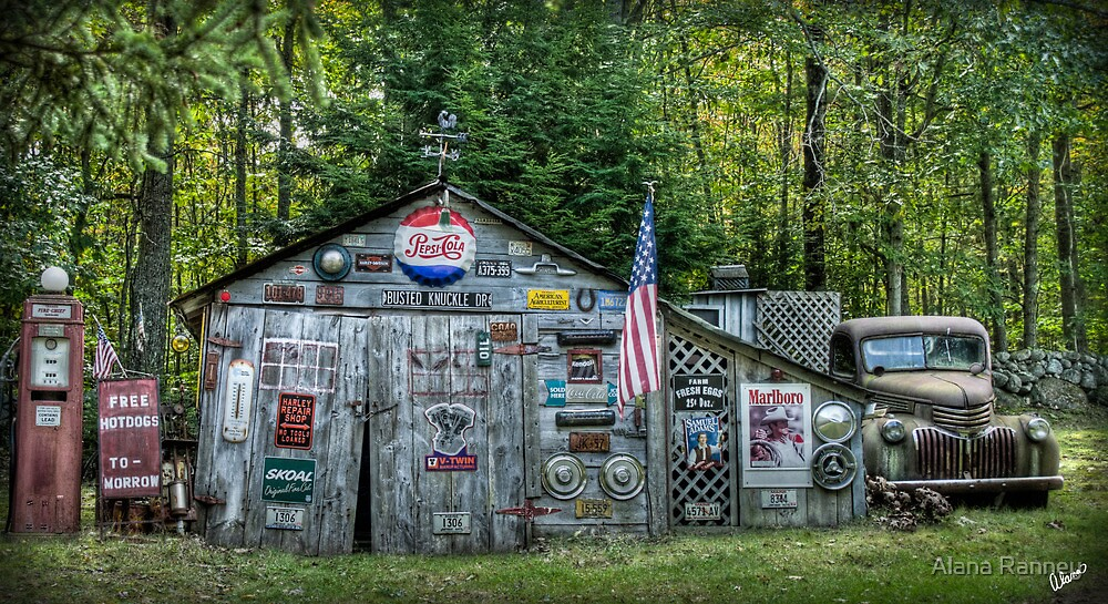 Maine Shed  by Alana Ranney