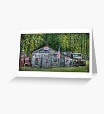 Maine Shed  Greeting Card
