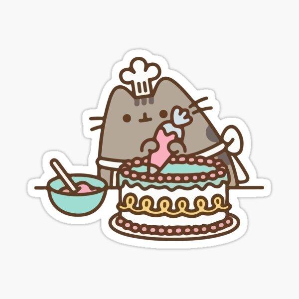 cat Baking Sticker