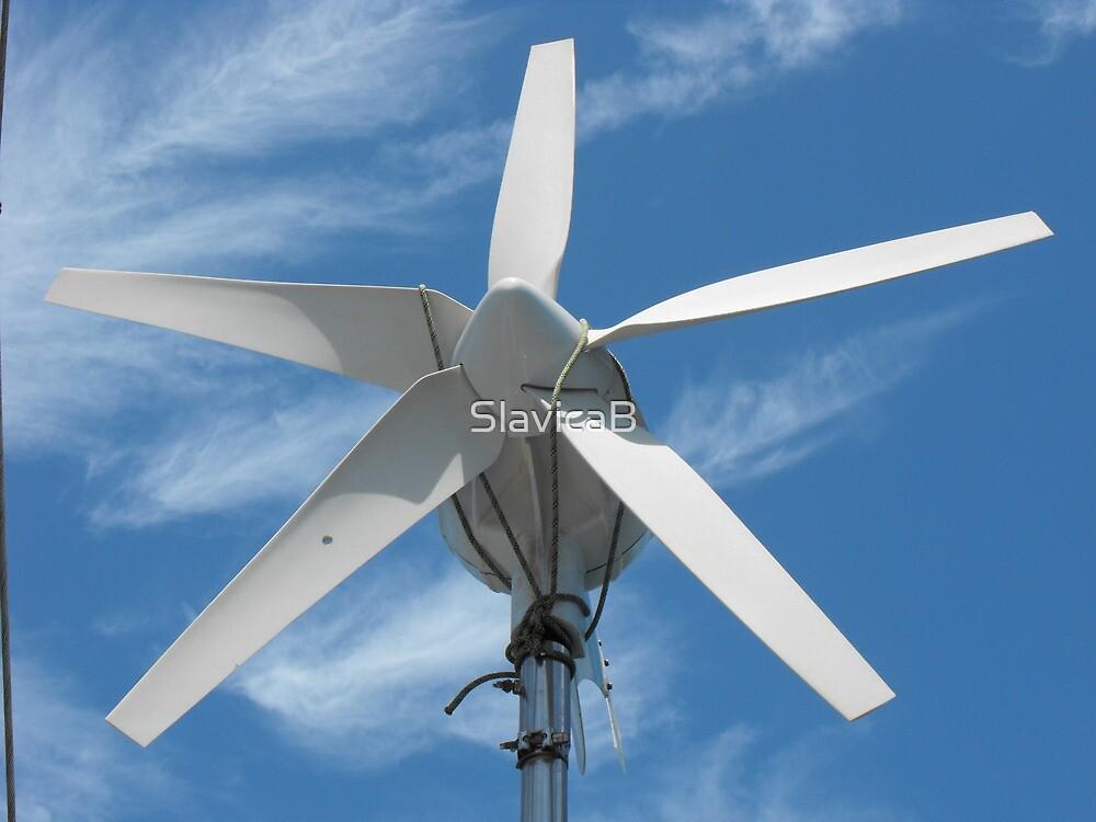 Sailboat wind generator by SlavicaB