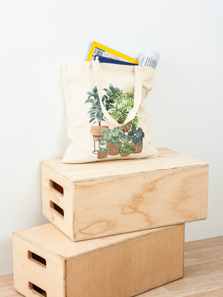 Alternate view of Potted Plants Collection 3 Tote Bag