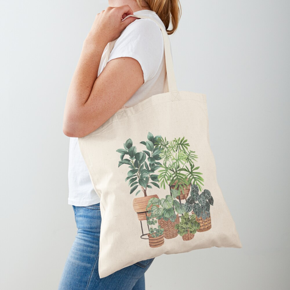 Potted Plants Collection 3 Tote Bag