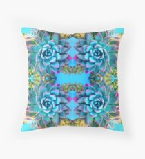 Succulent Weave 3.0 Throw Pillow