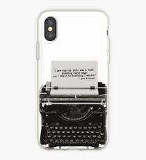 Optimistic Kerouac iPhone Case