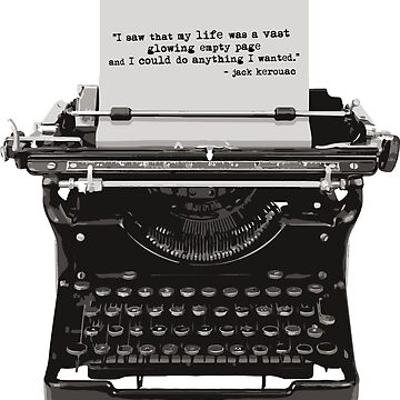 Optimistic Kerouac by Oneryanjoseph
