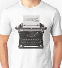 Optimistic Kerouac Unisex T-Shirt