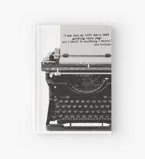Optimistic Kerouac Hardcover Journal