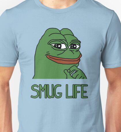 """PEPE FROG """"SMUG LIFE"""" SHIRTS + MORE Unisex T-Shirt"""