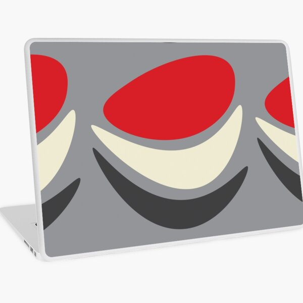 Jazz (on Grey) Laptop Skin