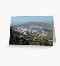 Greek Island Beauty 2 Greeting Card