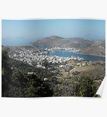 Greek Island Beauty 2 Poster