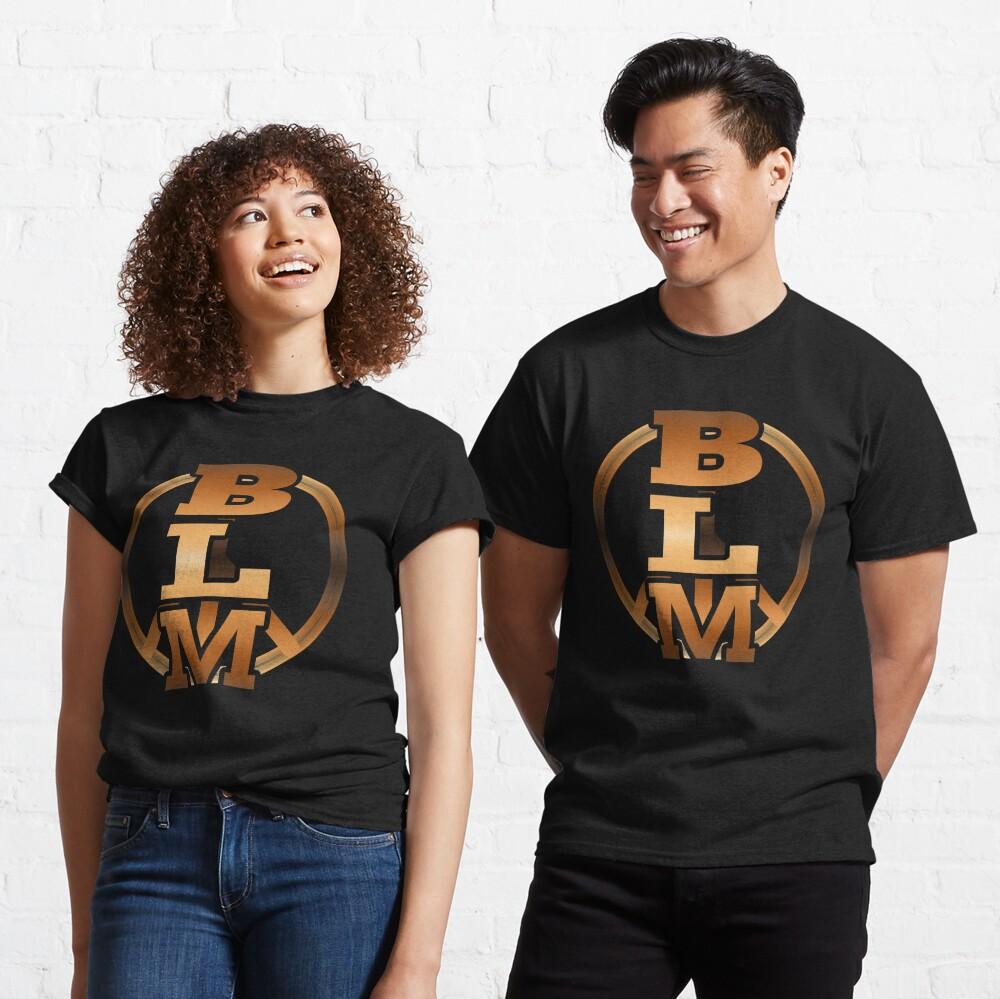BLM (Black Lives Matter - Antifa - Eracism - Peace Sign - Equality) Classic T-Shirt