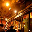 parisian cafe by kchamula