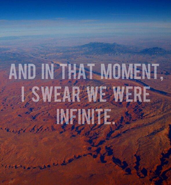 «Y en ese momento, juro que fuimos infinitos» de Josrick
