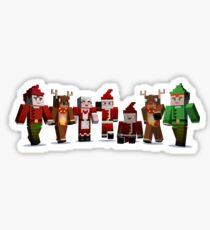 Merry Xmas from MINE Sticker