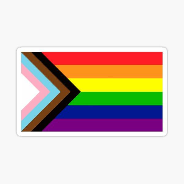Progress Gay Pride Flag| Gay Pride Shirt| LGBT Rainbow Tee | New Pride Flag Sticker