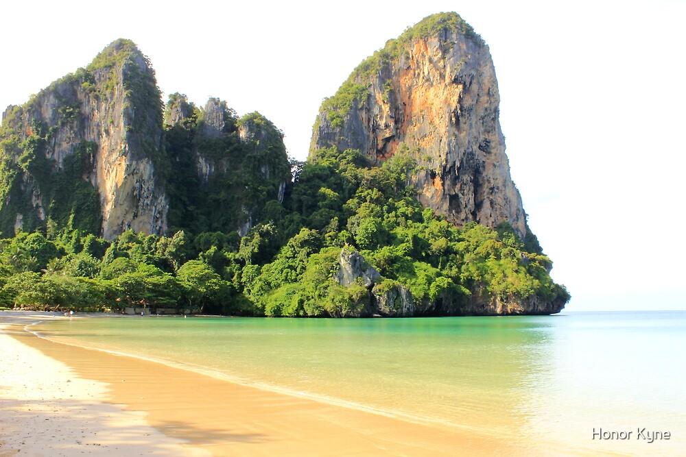 West Railay Beach - Thailand by Honor Kyne