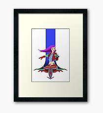 Star Warrior v2 Framed Print