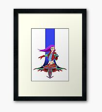 Star Warrior v2 Framed Print