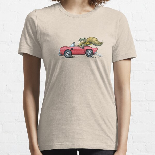 Driver Squirrel, Cool Convertable Driving Design Essential T-Shirt