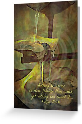 Water - greeting card/inspirational print by Scott Mitchell
