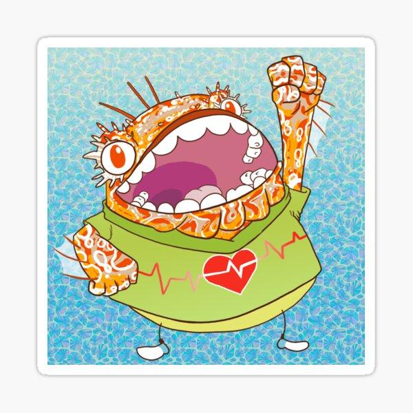 MerMay   24 Scorpion fish Sticker