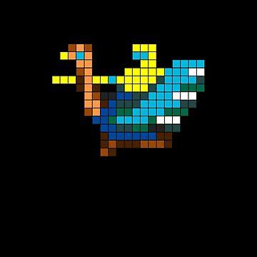 Joust Arcade Game Sprite by Samadan