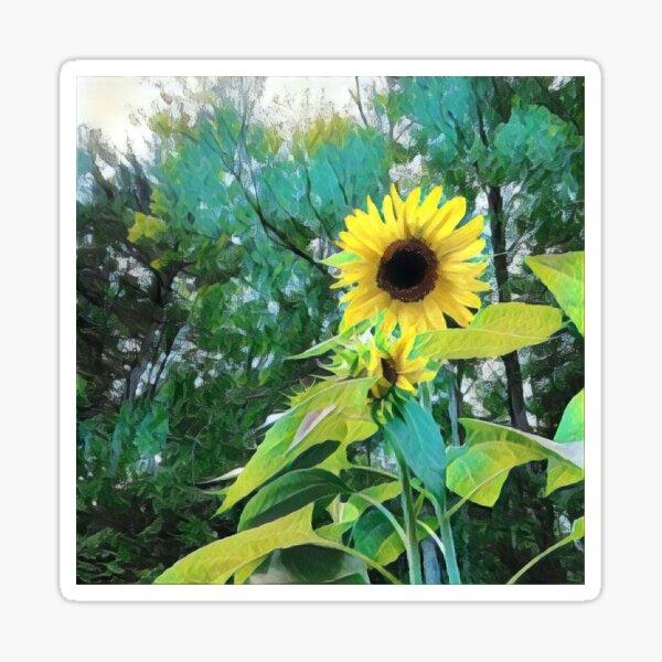 The Sunflower Sticker
