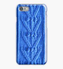Aran knit iPhone Case/Skin