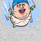 Fat Guy High Dive by Kirk Shelton