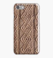 Laredo textured knit  iPhone Case/Skin