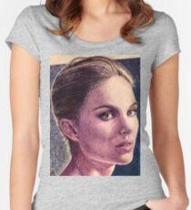 Natalie Portman Women's Fitted Scoop T-Shirt