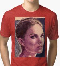 Natalie Portman Tri-blend T-Shirt