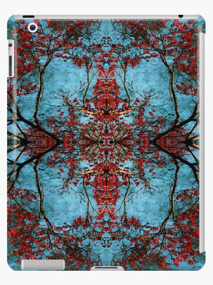Woven Are The Blossoms IPad Case by Elizabeth Burton