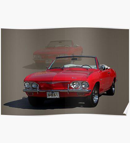 1965 Chevrolet Corvair Convertible Poster