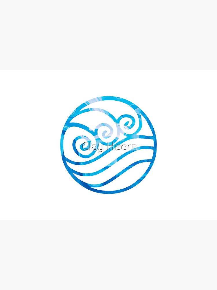 Water Tribe Symbol by clayheern