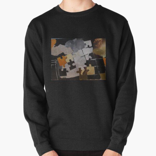 puzzle composition Pullover Sweatshirt