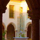 Cloister. Convento de Jesus. Claustro. by terezadelpilar ~ art & architecture