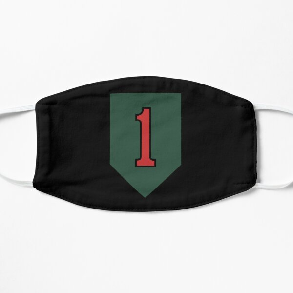 """The Big Red One"" 1st Infantry Division Insignia Mask"
