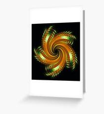 Ribbon Spin Greeting Card