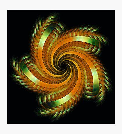 Ribbon Spin Photographic Print