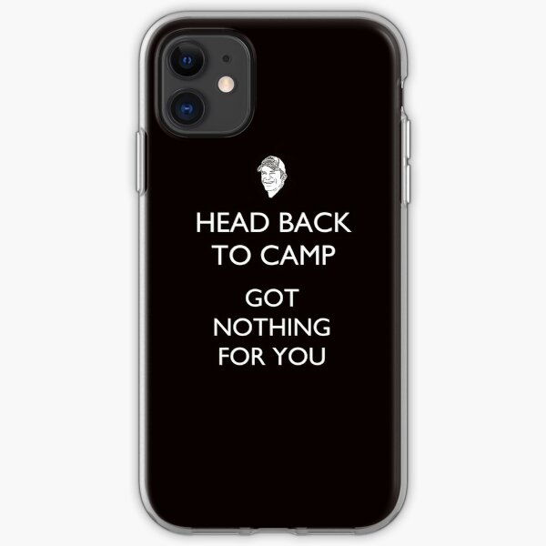 Head Back to Camp - Survivor/Probst iPhone Soft Case