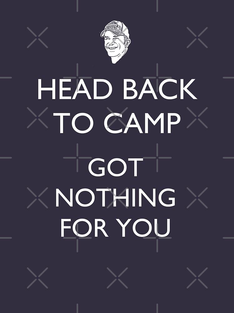 Head Back to Camp - Survivor/Probst by TARDISRepairman