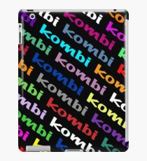 VW iPad case - Kombi Kombi Kombi - on Black iPad Case/Skin
