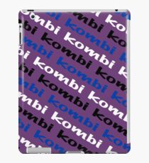 VW iPad case - Kombi Kombi Kombi - Purple iPad Case/Skin