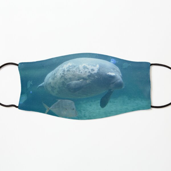 Stubby the Manatee at the Columbus Zoo and Aquarium Kids Mask