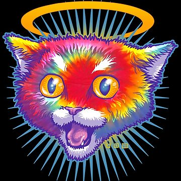 Hippie Kitty Angel by cs3ink