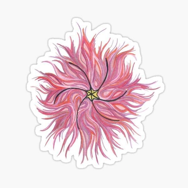 Impulsive Egg Flower of the Rising Sun Sticker