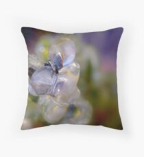 Ice Formation Throw Pillow